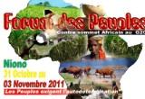 Forum des Peuples 2011