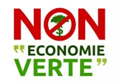 La nature est un bien commun, pas une marchandise. Non à leur économie verte !