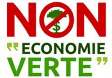 La nature est un bien commun, pas une marchandise. Non à leur «économie verte» !