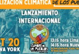Cumbre de los Pueblos frente al cambio climático COP20